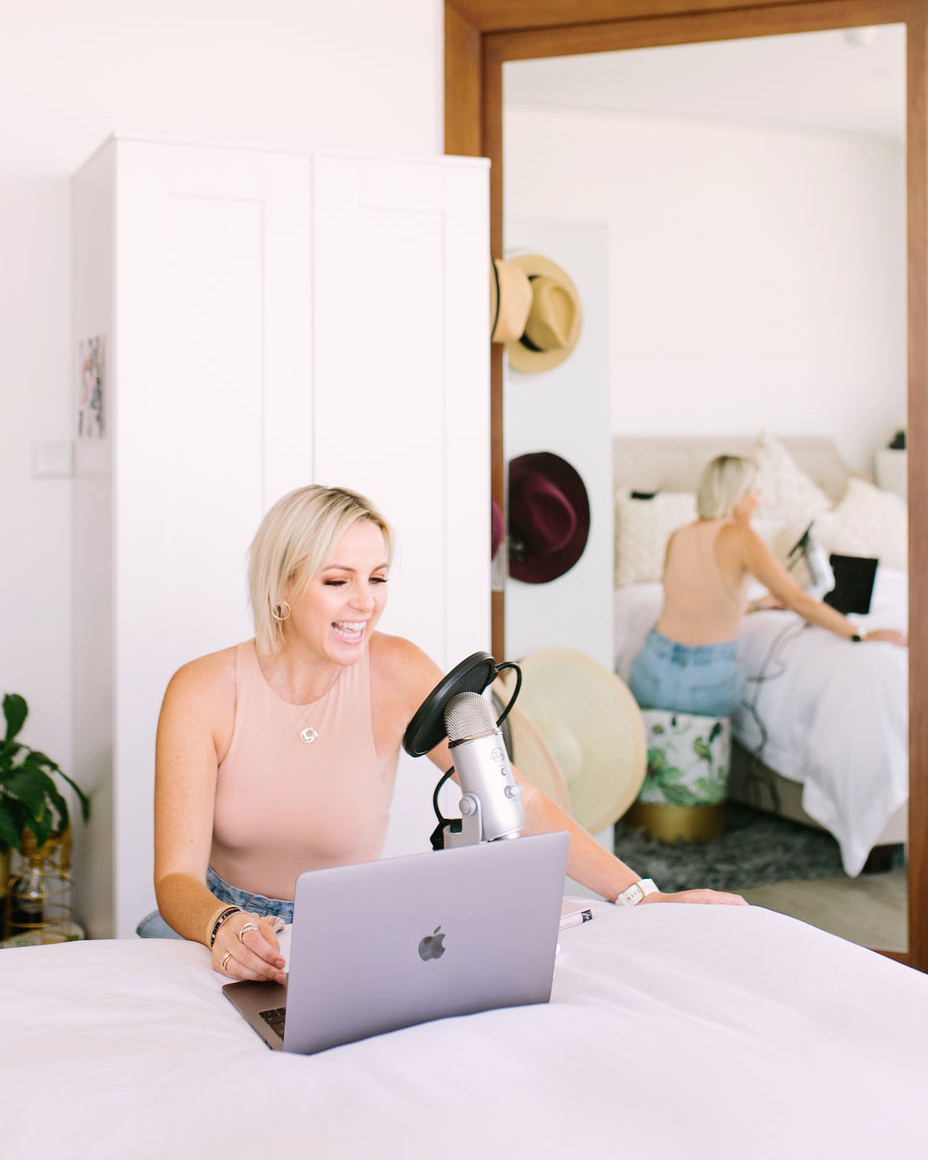Kelly Lundberg Creating A Podcast